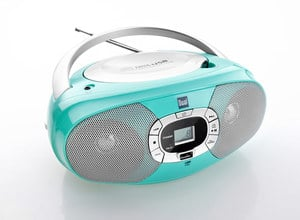 Dual Portable CD-Boombox P390, Mint-Grün