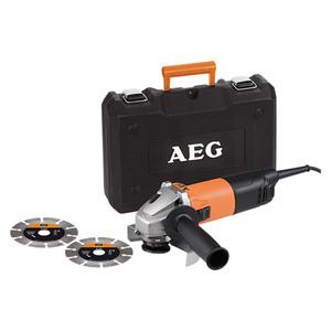AEG Powertools Winkelschleifer-Set WS 8-125 S