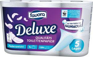 Favora Toilettenpapier 5lg. 6x130
