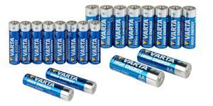 High Energy Micro (AAA) Alkaline Batterie - Tabaluga Charity 10er Pack Varta