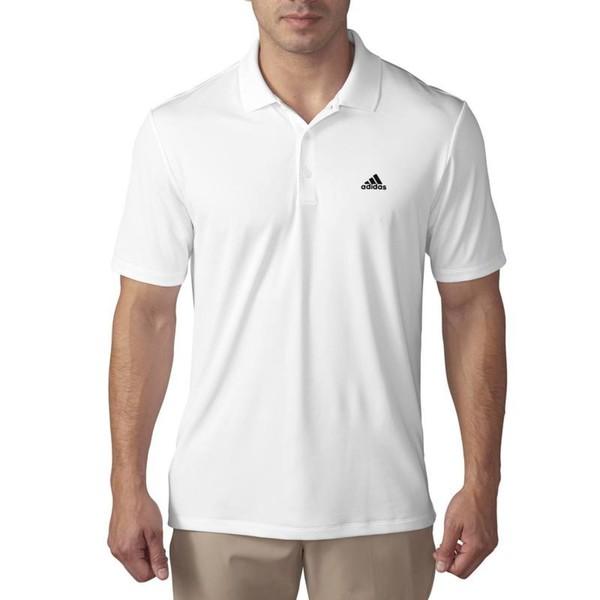 ADIDAS Poloshirt Climacool Tipped Club Golf Polo Herren weiß, Größe: M