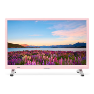 MEDION LIFE P13500 Fernseher, 54,6 cm (21,5') LED-Backlight, HD Triple Tuner, integrierter Mediaplayer, CI+ Modul, rosa
