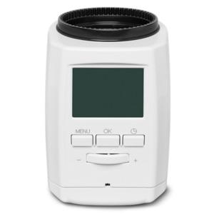 MEDION Smart Home Heizkörperthermostat P85711, Smart Home, Zeitsteuerung oder Fernsteuerung, 30% Heizkosten sparen, 3 Adapter (weiß)