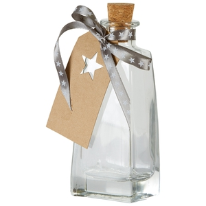 Glasflasche mit Korken (200 ml)