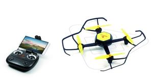 TrendGeek Quadrocopter mit Kamera TG-002+