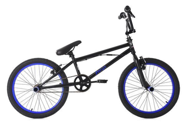KS Cycling BMX Freestyle 20'' Yakuza schwarz-blau