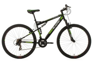 KS Cycling Mountainbike Fully 29'' Slyder schwarz RH 51 cm