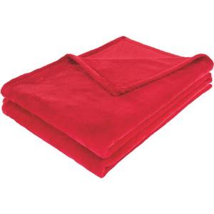 Kuscheldecke Kuschelix in Rot