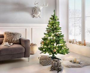 Weihnachtsbaum mit LED-Beleuchtung, 150 cm