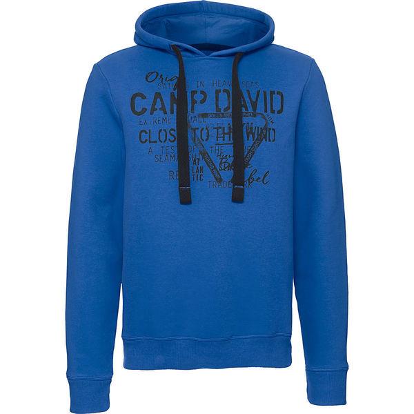 Einzelhandelspreise Outlet-Boutique beste Auswahl von 2019 Camp David Herren Kapuzen-Sweatshirt von