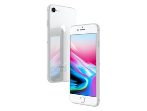 Apple iPhone 8, 64 GB, silber
