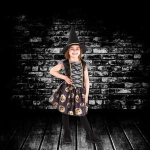 Kinder-Halloweenkostüm Hexe