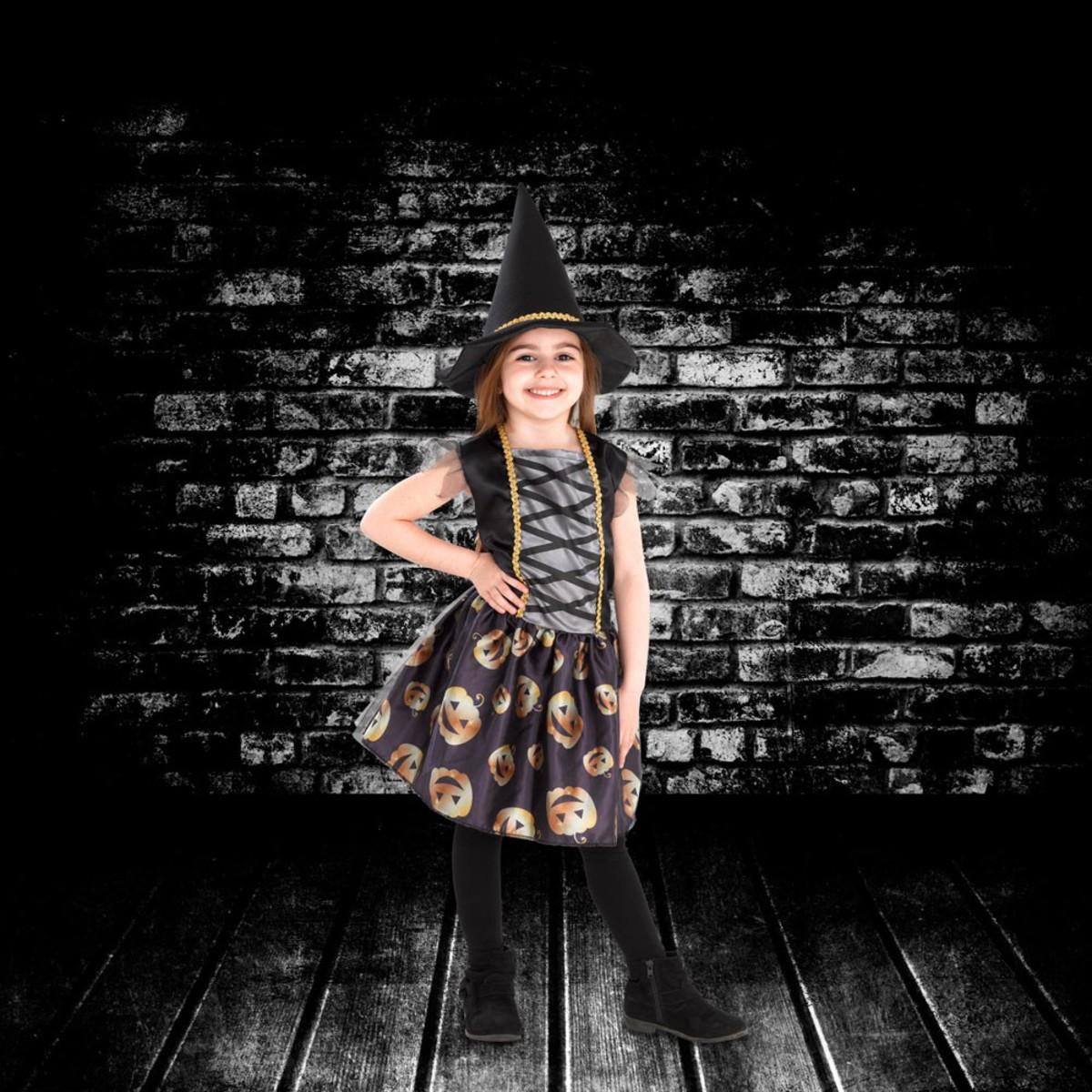 Bild 1 von Kinder-Halloweenkostüm Hexe