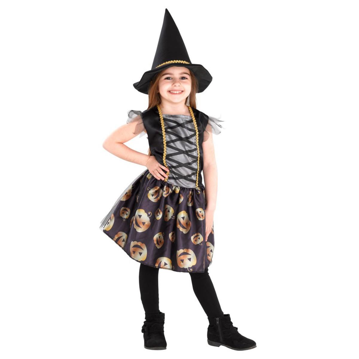 Bild 2 von Kinder-Halloweenkostüm Hexe