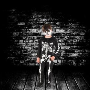 Halloween Kinderkostüm Skelett Junge