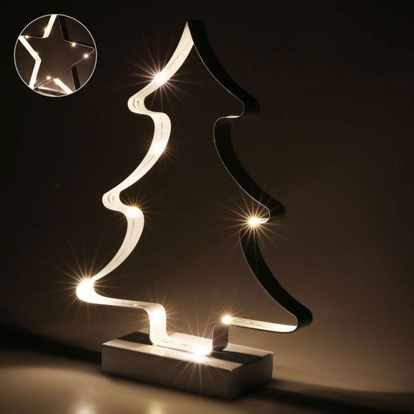 weihnachts led led stern ugrey aus holz deko fenster stimmungs licht weihnachten weihnachts zu. Black Bedroom Furniture Sets. Home Design Ideas