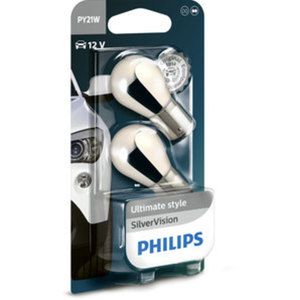 PHILIPS SILVERVISION        21W, SIGNALLAMPEN, PAAR