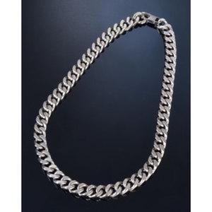 "Halskette ""Brushed""        Chirurgenstahl, Länge: 55cm"