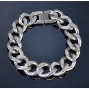 "Armband ""Brushed""        Chirurgenstahl, Länge: 22cm"