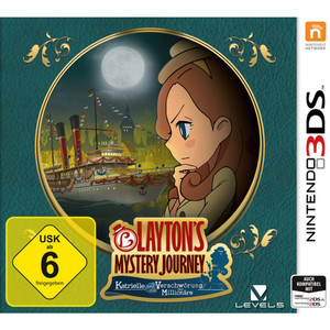 Layton's Mystery Journey: Katrielle...