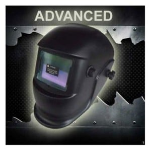 "Mauk Automatik Schweißhelm Serie ""Advanced"", ""Black Shield"""