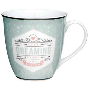 Rossmann Ideenwelt XXL Becher ´´stop dreaming start living´´