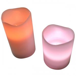 LED-Wachskerzen mit Farbwechsel