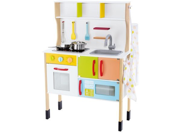 Playtive junior spielk che von lidl ansehen for Playtive junior cuisine xxl