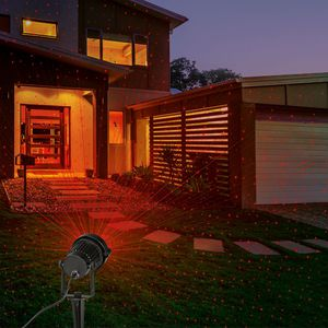 EASYmaxx Laserstrahler Lichtpunkte rot+grün
