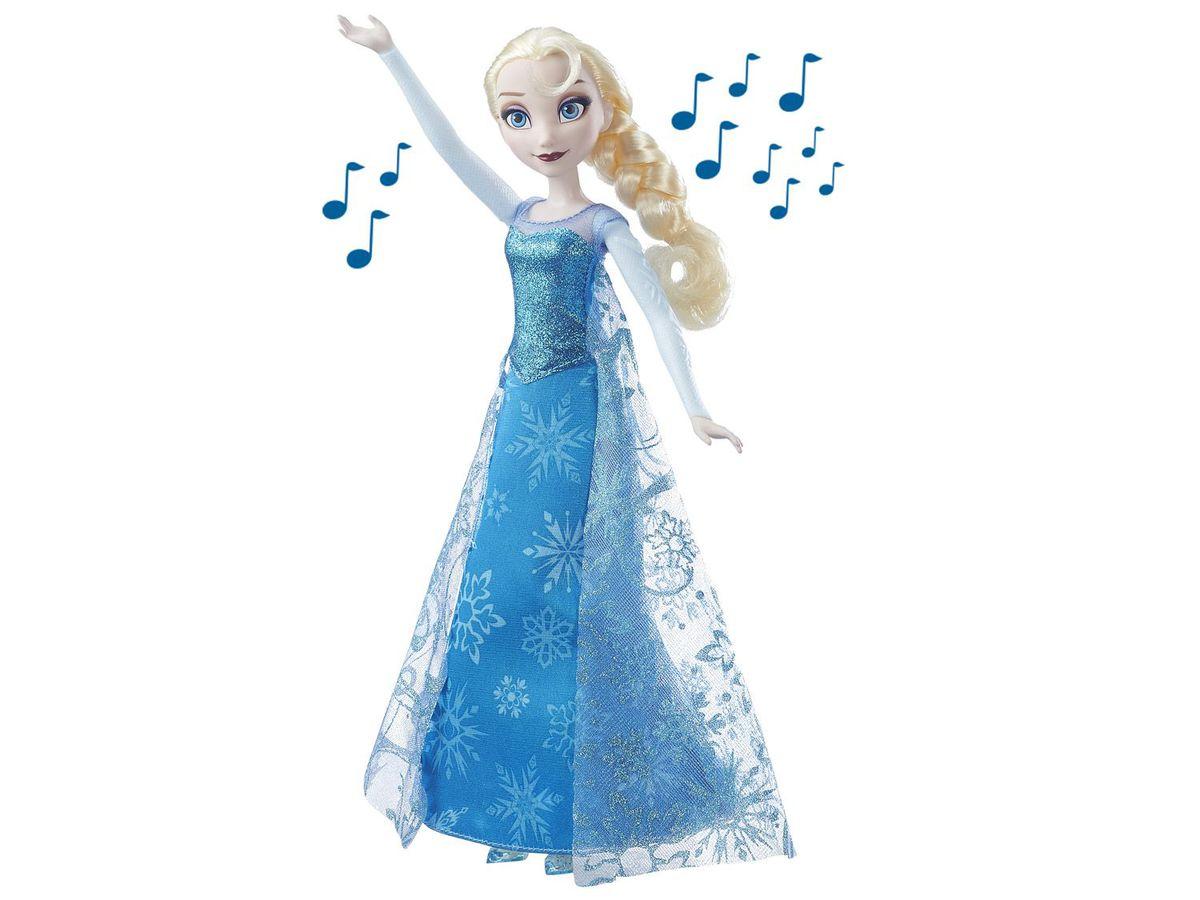 Bild 1 von Hasbro Puppe Die Eiskönigin singende Lichterglanz Elsa