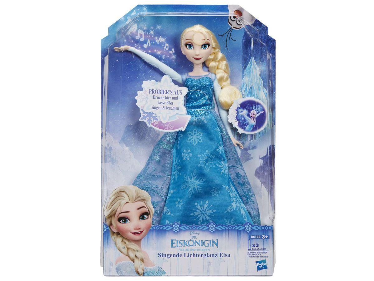 Bild 3 von Hasbro Puppe Die Eiskönigin singende Lichterglanz Elsa