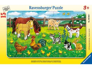 Ravensburger Mein allererstes Tablet mit gratis Puzzle Bauernhoftiere auf der Wiese