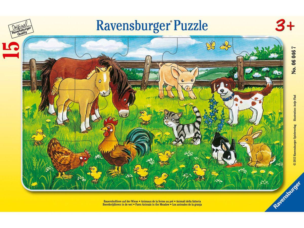 Bild 3 von Ravensburger Mein allererstes Tablet mit gratis Puzzle Bauernhoftiere auf der Wiese