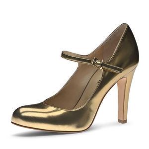 Evita Damen Pumps CRISTINA, gold, 36