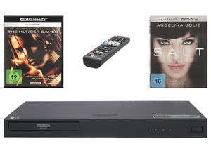 LG Ultra HD Blu-Ray Player UP970 inklusive zwei Filmen