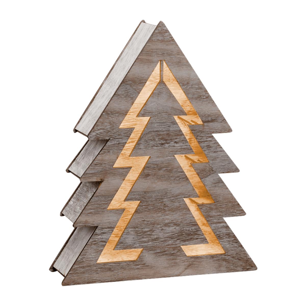 Bild 3 von LED-Holzdekoration