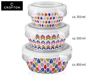 CROFTON® Porzellanschüssel-Set, 3-teilig