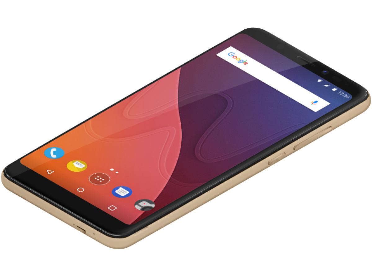 Bild 2 von WIKO View, Smartphone, 32 GB, 5.7 Zoll, Gold, LTE