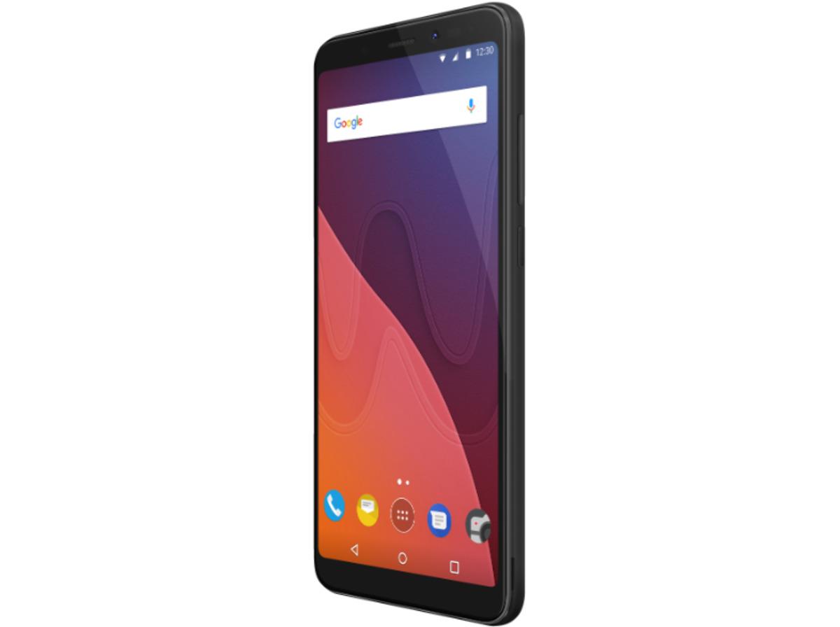 Bild 2 von WIKO View, Smartphone, 32 GB, 5.7 Zoll, Black, LTE
