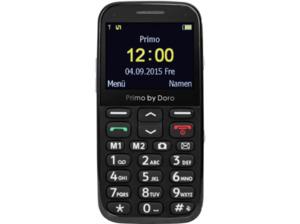 DORO Primo 366, Handy, 2.3 Zoll, Schwarz