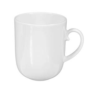 Seltmann Weiden Henkelbecher / Tasse 250 ml RONDO UNI Weiß