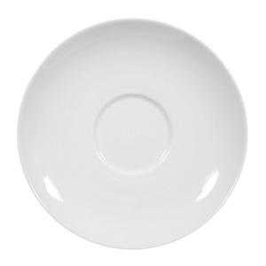 Seltmann Weiden Suppenuntertasse / Teller flach Ø 16 cm RONDO UNI Weiß