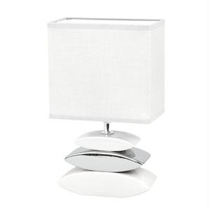 FISCHER & HONSEL Retrofit Tischlampe 1 flg LINER Weiß/Silber