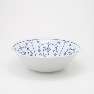 KAHLA Schüssel /Schale 290 ml BLAU SACS Weiß mit blauem Dekor