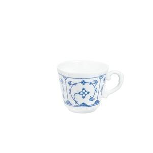 KAHLA Tasse /Kaffeetasse 180 ml BLAU SACS Weiß mit blauem Dekor
