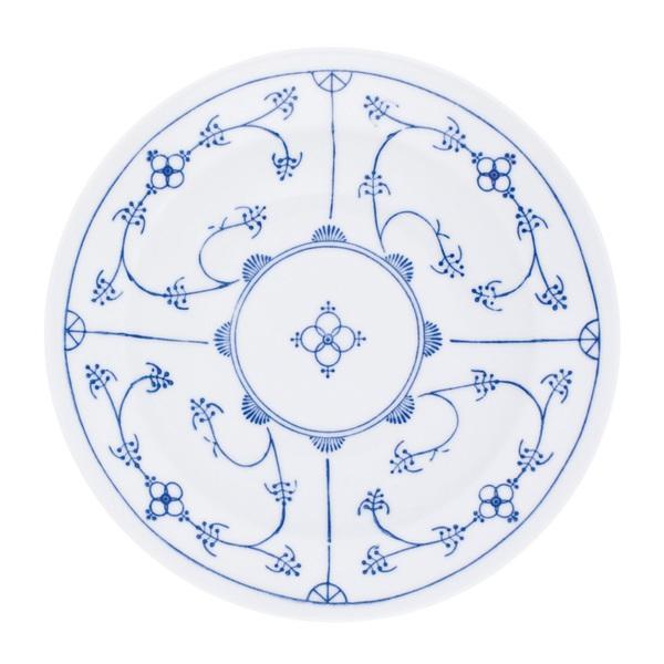 KAHLA Teller flach /Speiseteller Ø 26 cm BLAU SACS Weiß mit blauem Dekor