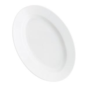 KAHLA Teller oval/Servierplatte 32 x 21,8 cm PRONTO Weiß