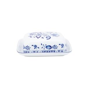 KAHLA Butterdose für 250 g ROSSELLA ZWIEBELMUSTER Weiß/Blau