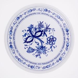 KAHLA Teller rund /Tortenplatte Ø 31 cm ROSSELLA ZWIEBELMUSTER Weiß/Blau