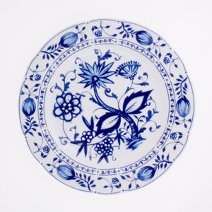 KAHLA Teller /Speiseteller Ø 26 cm ROSELLA ZWIEBELMUSTER Weiß/Blau